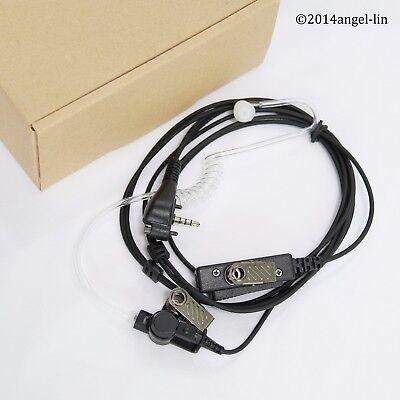 Earpiece With Palm Mic For Vertex Standard Evx534 Evx539 Vx131 Vx261 Vx264 Radio