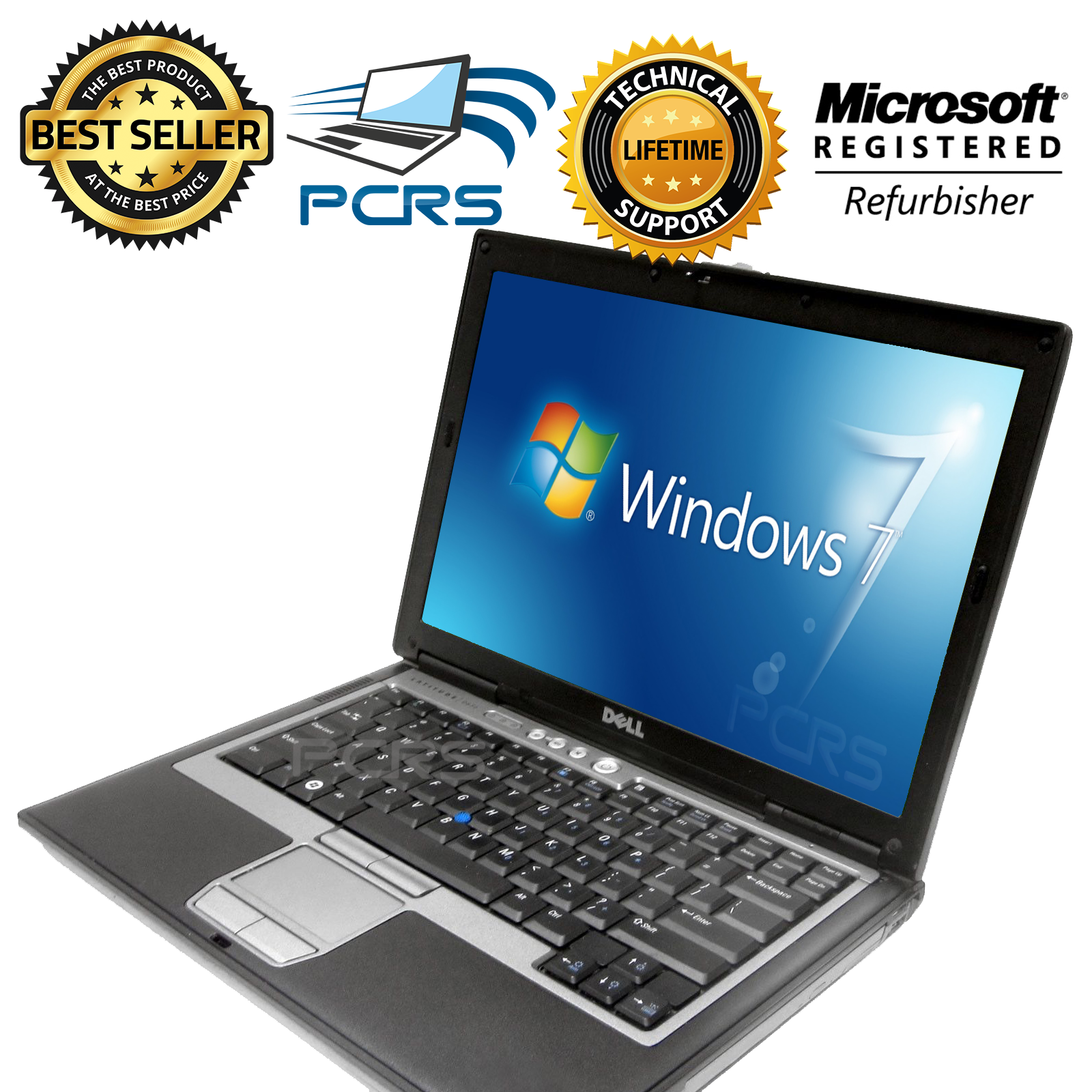 $123.98 - DELL Latitude Laptop Computer Windows Intel Core 2 Duo DVD WiFi Notebook HD
