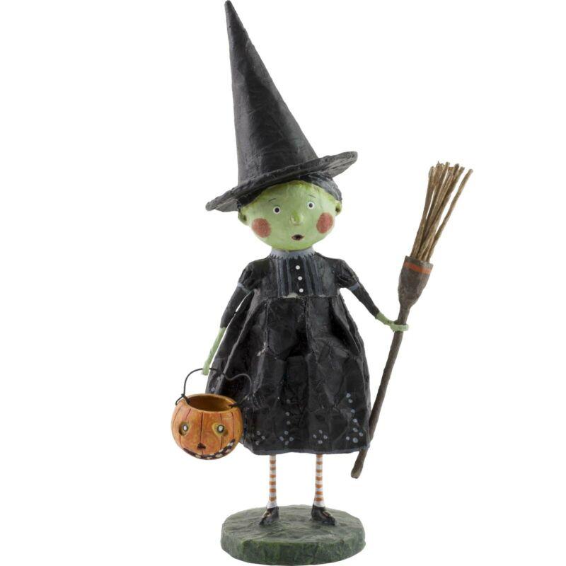 Lori Mitchell Halloween Wicked Witch Wizard of Oz Folk Art Figure Figurine Resin