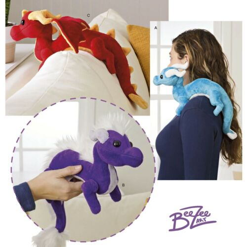 S8715 SEWING PATTERN Simplicity 8715 Stuffed Animals Dragon Variations Craft
