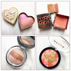 Benefit, Puma, Stila, Urban Decay Blushes and Highlighter