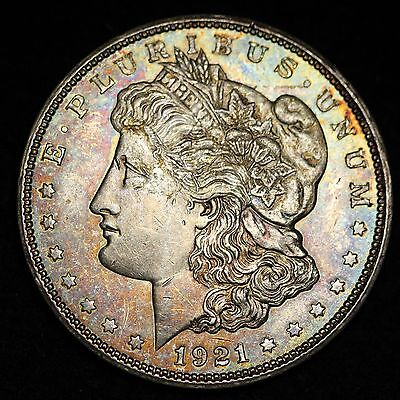 1921-D MORGAN DOLLAR CHOICE BU