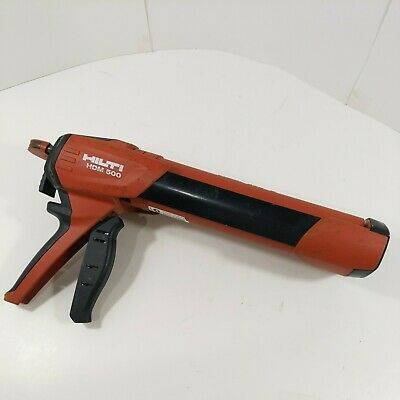 Hilti Hdm500 Manual Epoxy Dispenser W Hit Cr 500 Red Cartridge