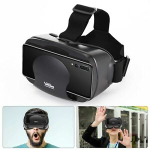 3D VR Glasses 360° Headset Goggles Virtual Reality Mobile Phone Remote Control
