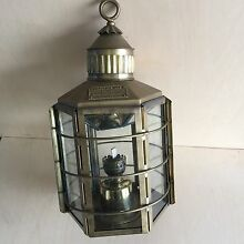 Genuine Vintage Solid Brass Clipper Ship Lamp/Lantern Calamvale Brisbane South West Preview