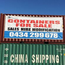 SHIPPING CONTAINERS 10FT 20FT 40FT SALE ON NOW!!!!! Laverton North Wyndham Area Preview