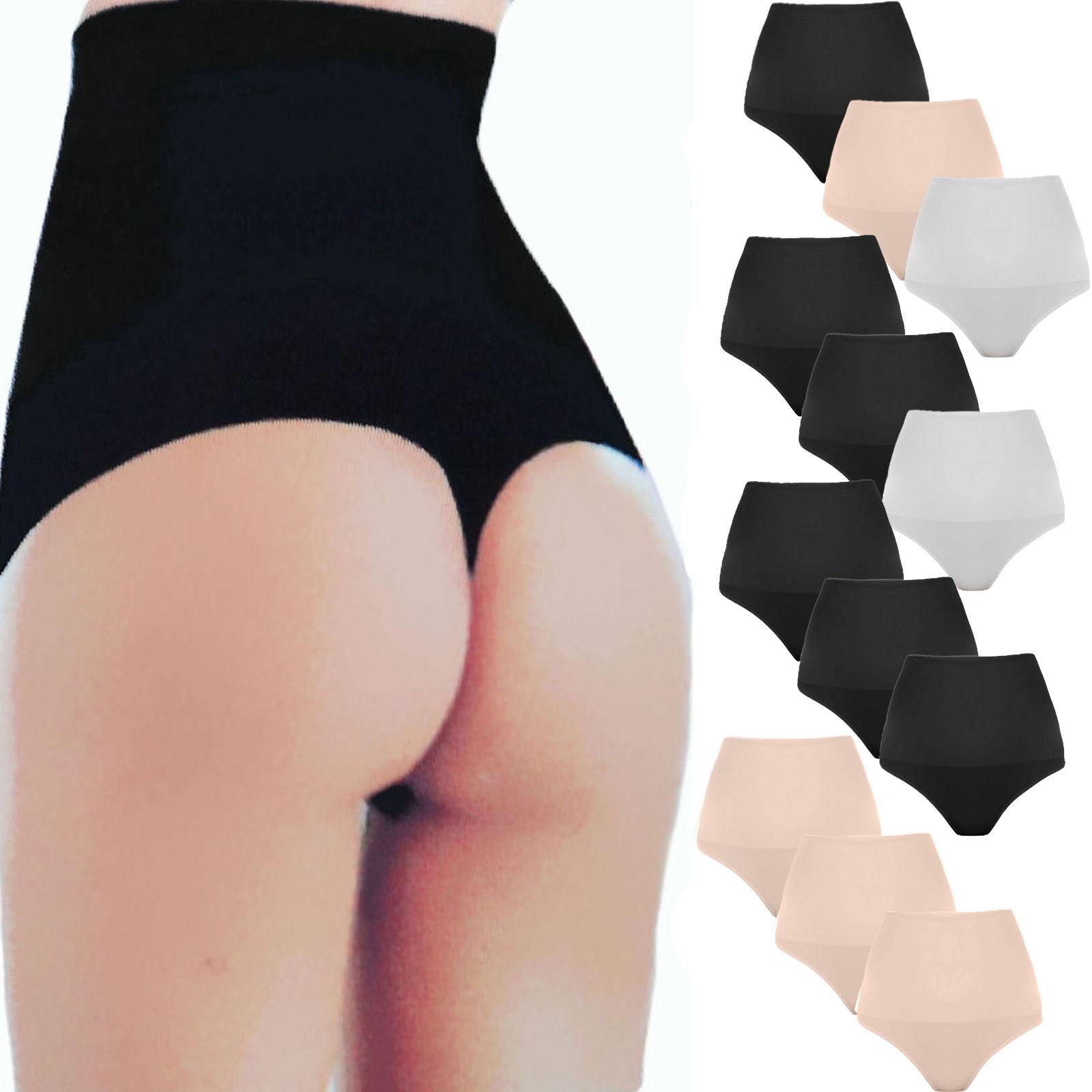 2 figurformende Bauchweg String Tanga Formslip Damen Unterwäsche Wäschebeutel