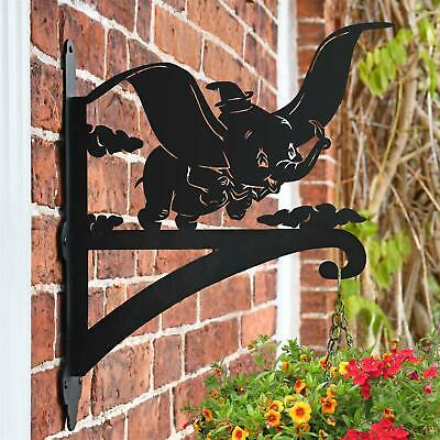 New Flying Elephant Iron Hanging Basket Bracket - 44cm x 33cm