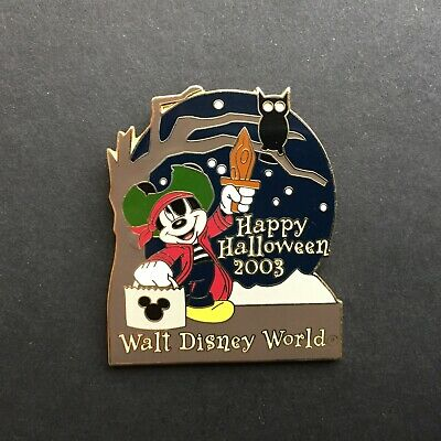 Happy Halloween Disney (WDW - Happy Halloween 2003 - Mickey Mouse Disney Pin)