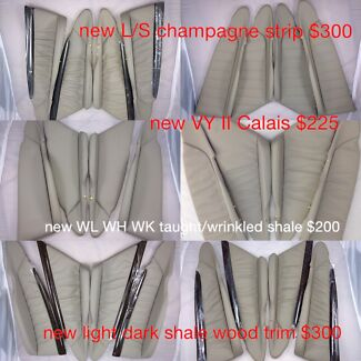 Genuine leather new old stock inserts new VT VX VY VZ WH WK WL SS HSV Hallam Casey Area Preview