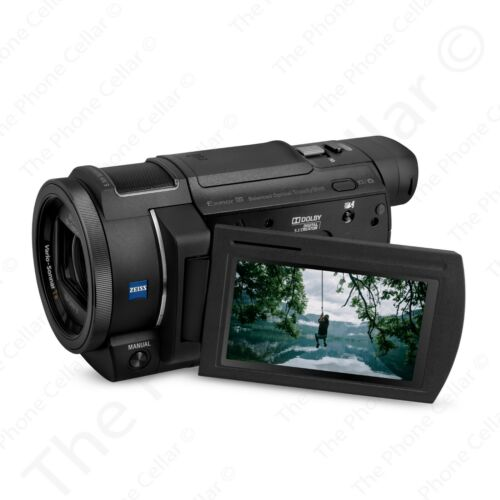 Sony FDR-AX33 4K Ultra HD Handycam Camcorder (Black) 20.6MP 10X Optical Zoom USB