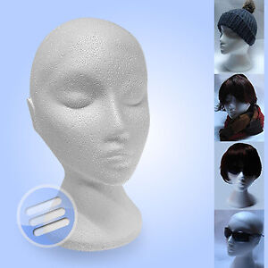 POLYSTYRENE-FEMALE-DISPLAY-HEAD-MANNEQUIN