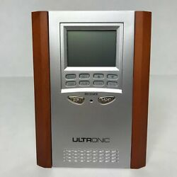 ULTRONIC MF7 REMOTE CONTROL CLOCK RADIO WITH TEMPERATURE DISPLAY NEW