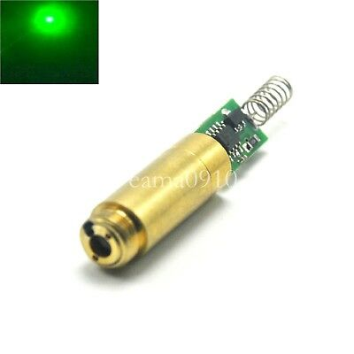 Industriallab Apc 3vdc 532nm 50mw Green Laser Dot Module Diode Laser Brass Host