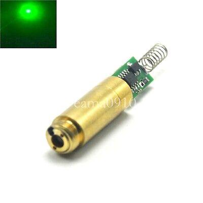 Industriallab Apc 3vdc 532nm 50mw Green Laser Dot Module Diode Laser Brass Host