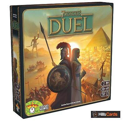 7 Wonders DUEL : 2 Player Board / Card Game : Ages 10+ | New & Sealed | SEV-EN07