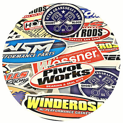 Performance Parts Misc 20 Sticker Grab Bag Polaris Ski-doo Sea-Doo WSM Hot