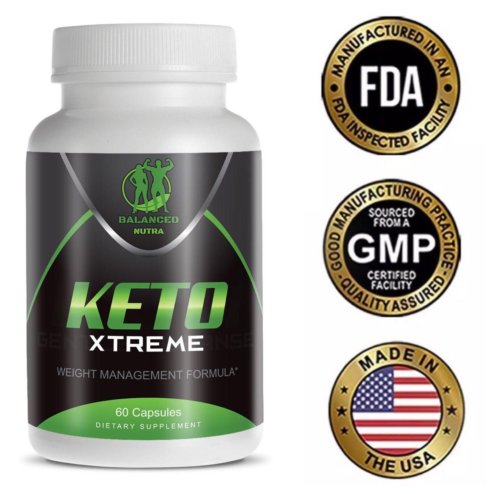 Keto XTREME pilules amaigrissantes pour perte de poids un mois de consommation