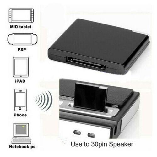 30Pin Wireless bluetooth A2DP Music Receiver Audio Adapter D