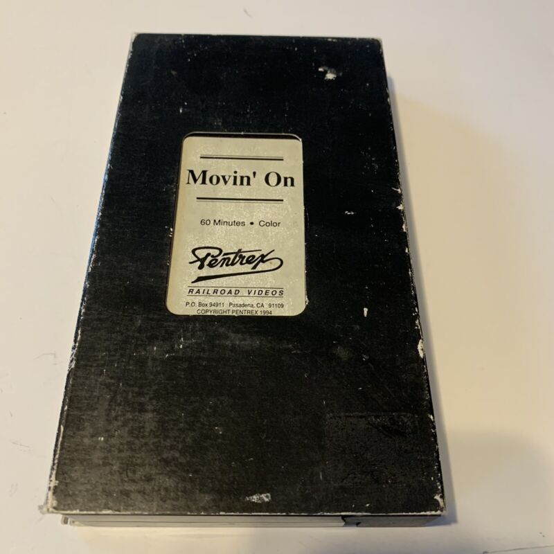 Movin On Railroad 1994 VHS