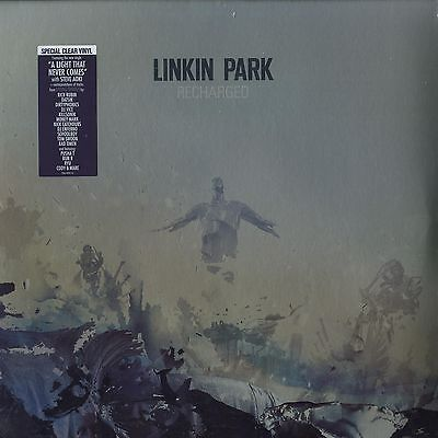 """Linkin Park - Recharged (Special Limited Clear Vinyl) 2x12"""" Vinyl LP NEW + OVP!!"""
