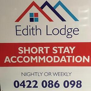 NIGHTLY ACCOMMODATION - EDITH LODGE, WARATAH Waratah Newcastle Area Preview