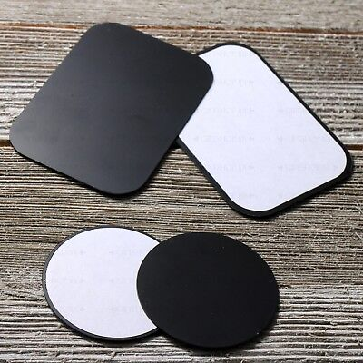 Replacement Mount Metal Adhesive Plate for Magnetic Phone Car Holder - 4X Pcs