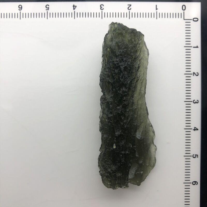 Moldavite Crystal Natural Stone  - 10.46Grams/52.30 Ct - A+ Grade - Deep Texture