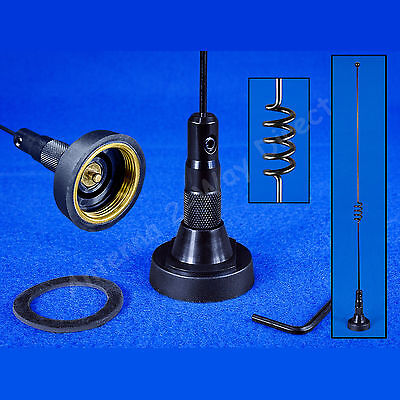 DUAL BAND NMO MOBILE ANTENNA 2 METER 70cm 140-170 / 430-470 MHz