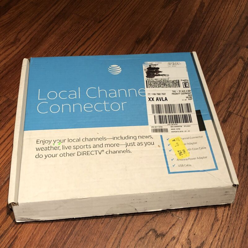 NEW/OPEN BOX - AT&T DirecTV Local Channel Connector Kit