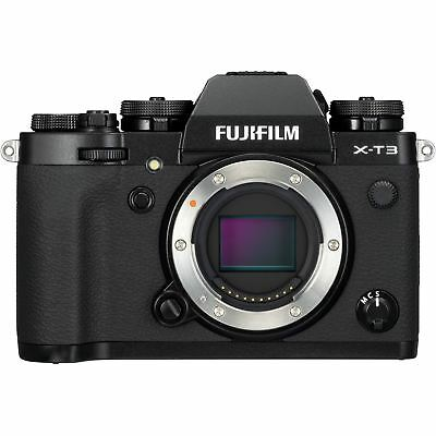 FUJIFILM X-T3 Mirrorless Digital Camera (Body Only, Black) XT3