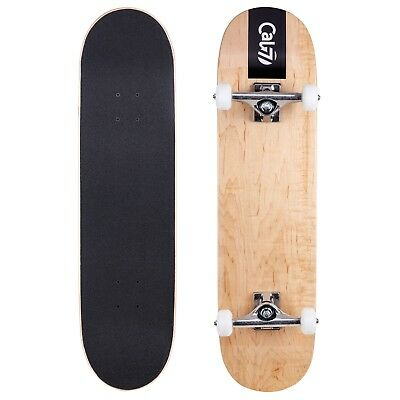 Cal 7 Fossil Pre Built Complete Skateboard,8 Inch, Skateboarding Holiday Gifts