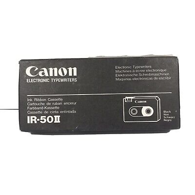 Lot Of 3 2-pak 6 Total Canon Ir-50 Ii Ink Ribbon Cassette