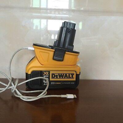 NEW Dewalt DCA1820 10.8V 12V 18V 20V to 18Volt Slide Battery Converter Adapter