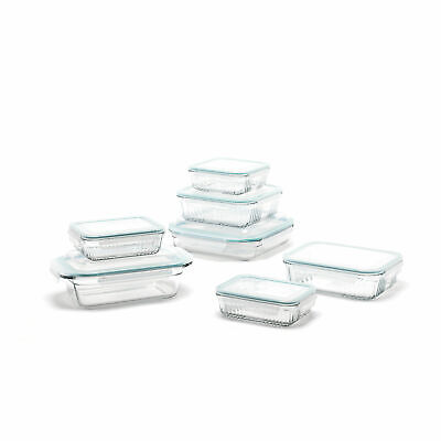 Glasslock Microwave Safe Glass Food Storage Bakeware Contain
