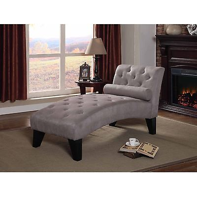Chaise Lounge Indoor Tufted Elegant Living Room Bedroom Den House Home Style