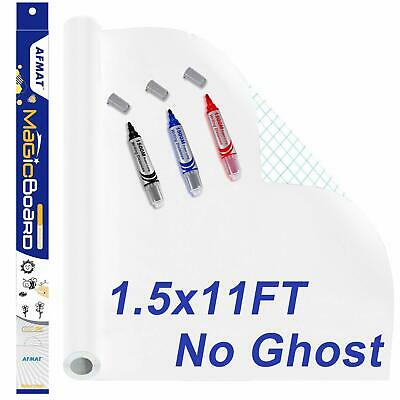 White Boards For Wall Dry Erase Paper Decal 9.8 Ft Large Whiteboard Stickers