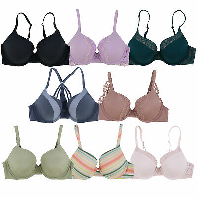 - Victoria's Secret Bra Body By Victoria Perfect Shape Push Up Padded Lace Vs New