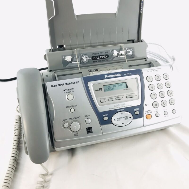 Panasonic KX-FP145 Phone Fax Machine with Answering System