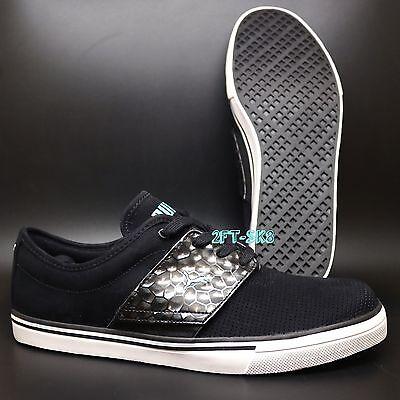 Puma El Ace Op Black Electric Green Mens Shoes // El Rey 2 3