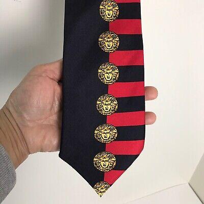 Vintage Gianni Versace Silk Tie Necktie