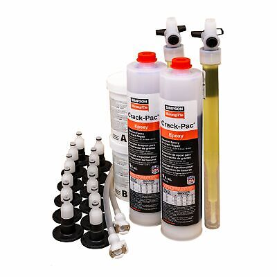 Simpson Strong-tie Etipac10kt Crack-pac Injection Epoxy Crack Repair Kit