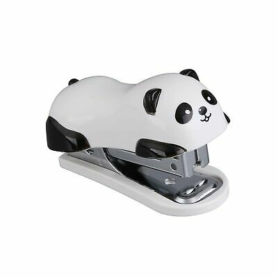 Cute Panda Mini Desktop Stapler Home Office Work Comfortable Unique Design Gift