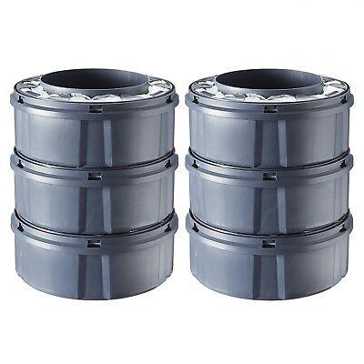 Sangenic - 6 Nachfüllkassetten für alle Windeltwister MK3, MK4 & MK5 NEU