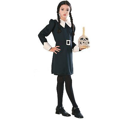 Wednesday Addams - The Addams Family Child Female Costume](Baby Wednesday Addams Costume)