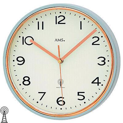 Ams 51 Reloj de Pared Cocina para Salón Oficina Radio Comedor Horas...