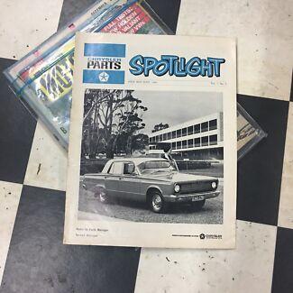 Rare Chrysler VC Valiant Dealer Spotlight Magazine