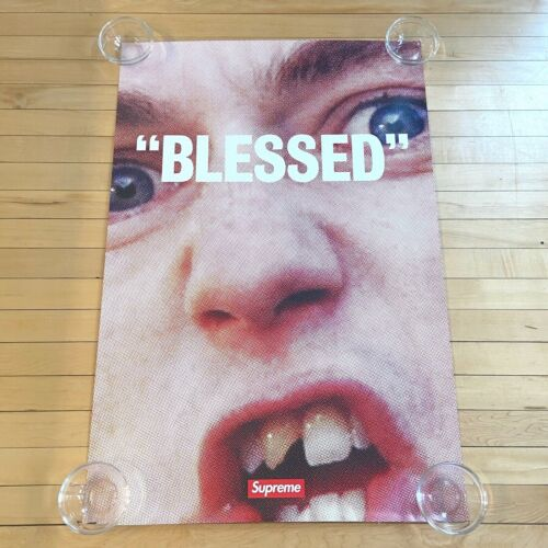"""SUPREME 2018 """"BLESSED"""" BEN POSTER 24 X 36"""" / AUTHENTIC"""