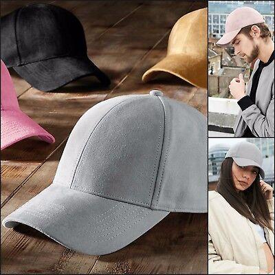 Faux Suede Baseball Cap Hat Womens Mens Casquette Sport Hip Hop Sun Hat ()