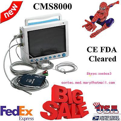 Fda Multiparameter Icu Ccu Patient Monitor Ecgnibpspo2resptemppr. Usa Sell